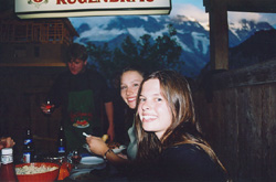 Amy, Kristy, and the Alps