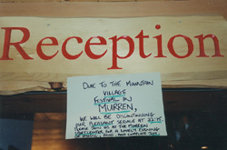 Due to the mountain village festival in MURREN, we will be discontinuing our pleasant service at 22:15. Please join us at the Murren Sportcenter for a lovely evening of music, food, and complete joy.