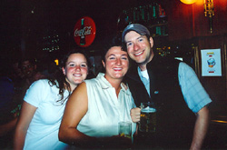 Amy, Petra, John.
