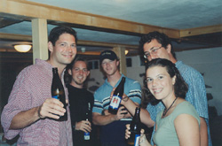 Todd, Ben, Brian, Big Ben, and Jen--Cheers!