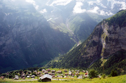 The View of Gimmelwald