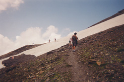 Snow on the Path