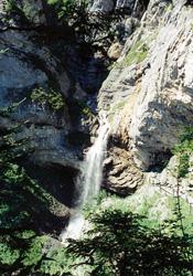 Sprutz waterfall