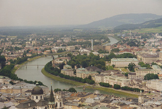 Salzburg Panorama from the Hohensalzburg Fortress